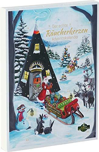 Räucherkerzen Adventskalender mit Weihnachtsduft