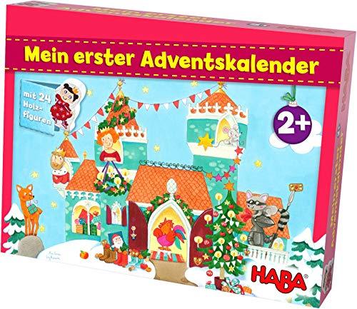 HABA 304904 Mein erster Adventskalender Prinzessinenschloss, für...