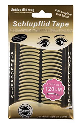 SCHLUPFLID TAPE® 'pretty size' (M) - Augenlidliftig ohne OP [120...