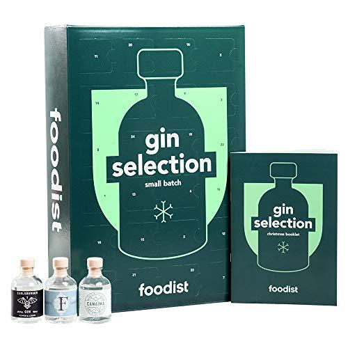 Gin Adventskalender 2020 mit Marken-Gins - Erwachsene 18+