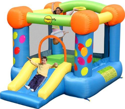 Happy Hop HappyHop 9070. Castillo Hinchable: Party Slide and Hoop...