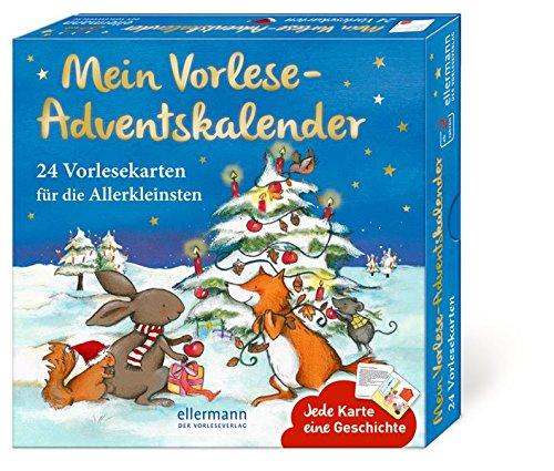 Mein Vorlese-Adventskalender: 24 Vorlesekarten für die...