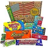 Kleiner American Candy Geschenkkorb | Retro Süßigkeiten und...