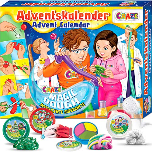 MAGIC DOUGH Adventskalender mit intelligenter Superknete