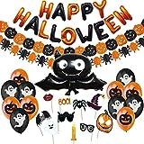 Jonami Halloween Deko Set, Happy Halloween Dekoration...