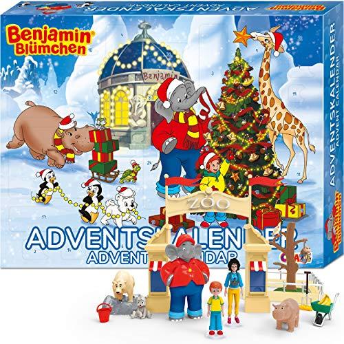 Craze Adventskalender Benjamin BLÜMCHEN Kinder Spielset für...