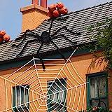 Joyjoz Halloween Spinnennetz mit Riesen Spinne, 200sqft Dehnbares...