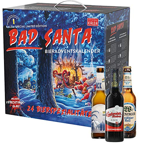KALEA Bad Santa Bier-Adventskalender
