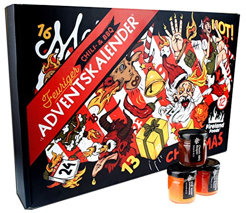 Feuriger Chili BBQ Adventskalender