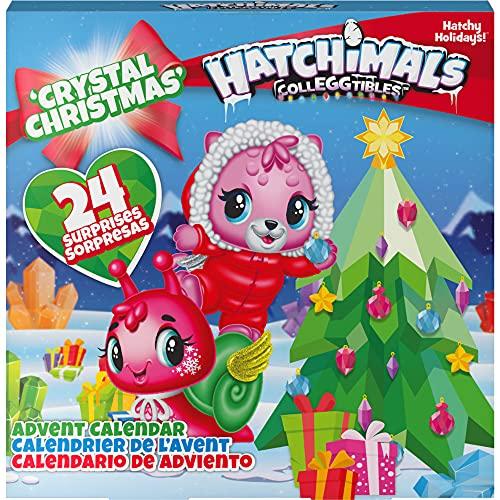 Hatchimals CollEGGtibles Crystal Christmas - Adventskalender mit...