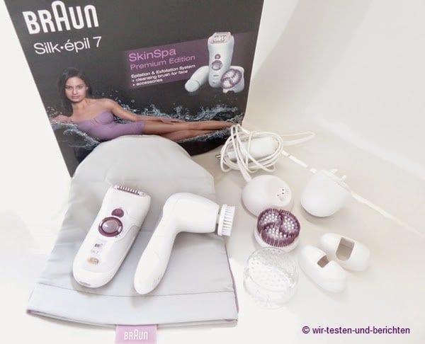 Testbericht: Braun Silk Epil Skin Spa 7