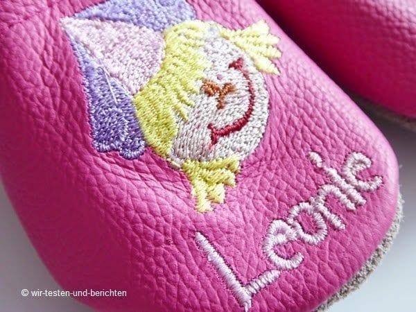 Leonies Lederpuschen von Krabbelfuß