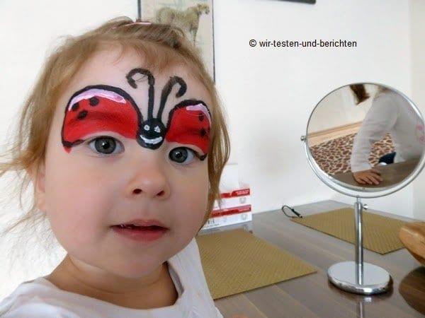 Kinderschminken mit Aquaschminke