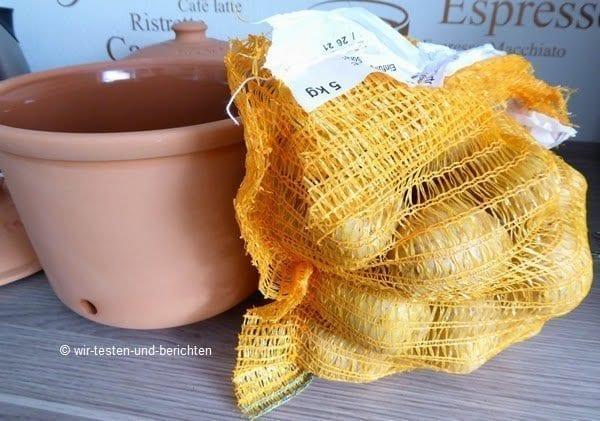 Erfahrungsbericht: RÖMERTOPF Kartoffeltopf im Test