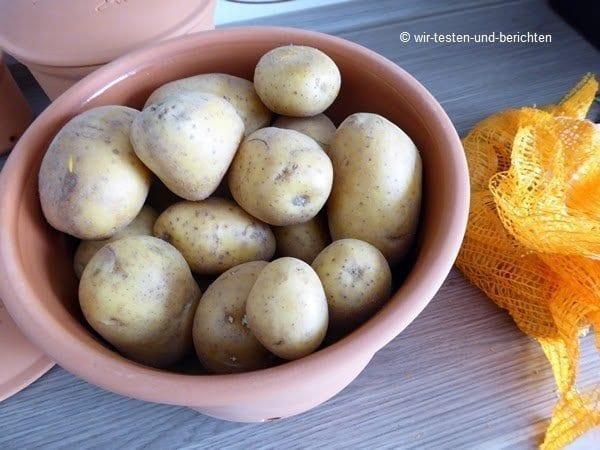 Erfahrungsbericht: RÖMERTOPF Kartoffeltopf im Test 2