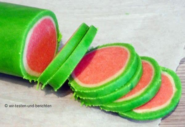 Rezept für Wassermelonen Kekse
