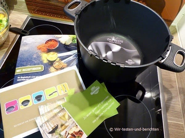 Gastrolux Biotan Guss-Kochtopf 2014 im Test 2