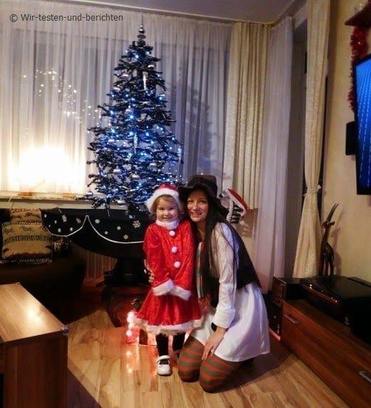 Unsere Weihnachtskostüme