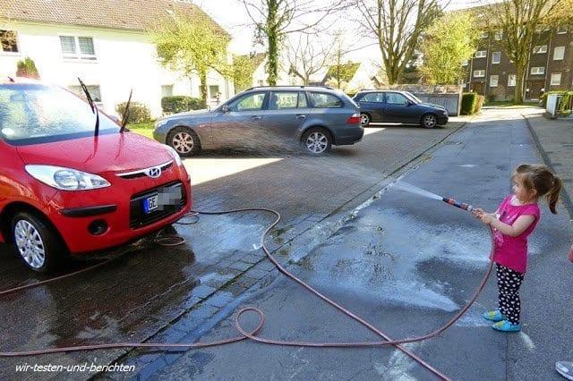Erfahrungen mit Gardena Autobürste - Testbericht