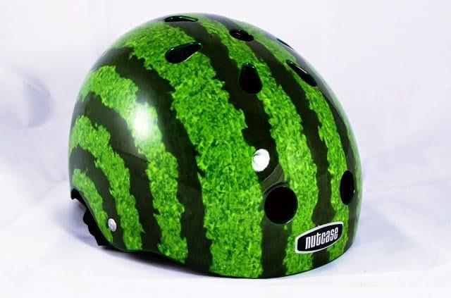 Wassermelone Fahrradhelm Nutcase