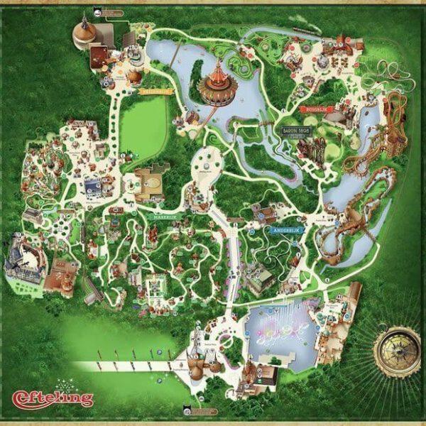 Efteling, der größte Freizeitpark der Niederlande 7