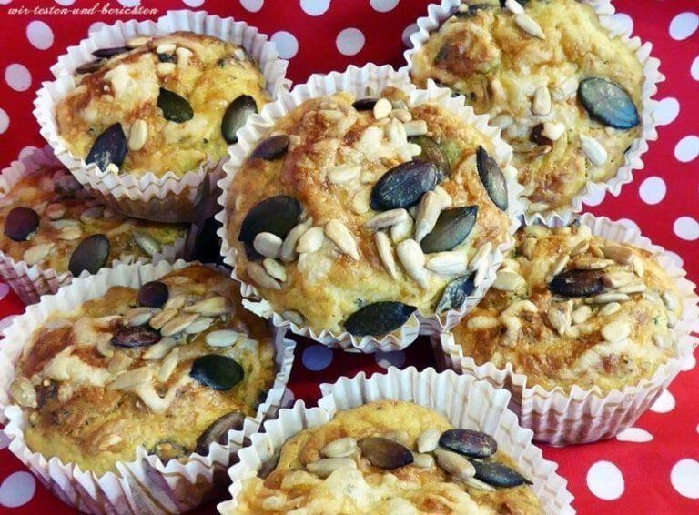 Herzhafte Brokkoli-Muffins mit gerösteten Kernen 6