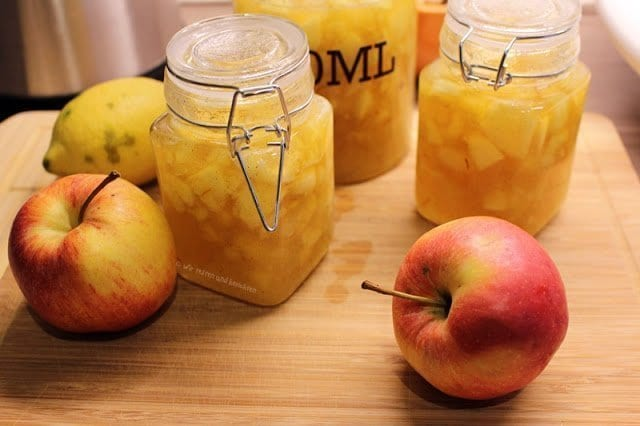 Herbstliches Rezept für selbstgemachte Apfel-Birnen-Marmelade