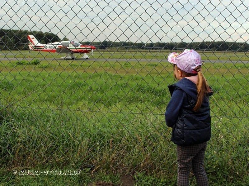 Ausflug zum Flugplatz Schwarze Heide in Hünxe