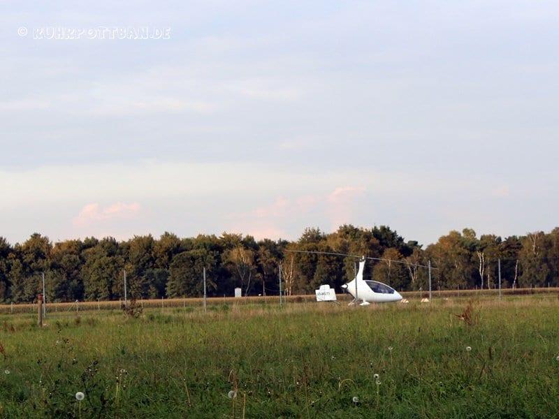 Flugplatz Schwarze Heide in Hünxe