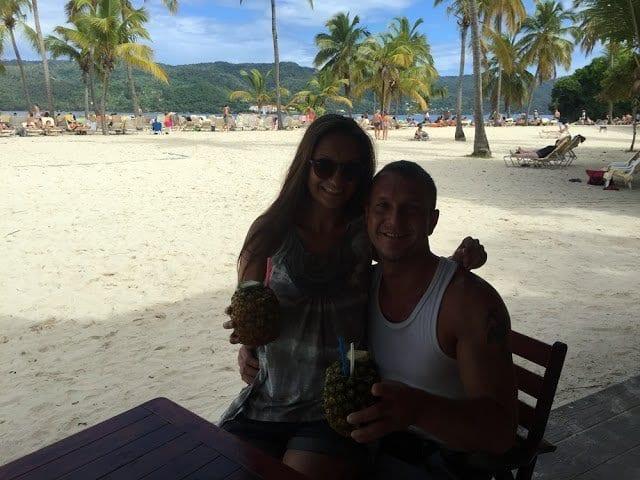 Ausflug nach Cayo Levantado (Bacardi Insel) 4