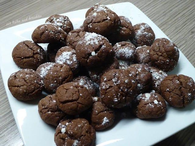 rezept nutella kekse fertig in 10 minuten. Black Bedroom Furniture Sets. Home Design Ideas