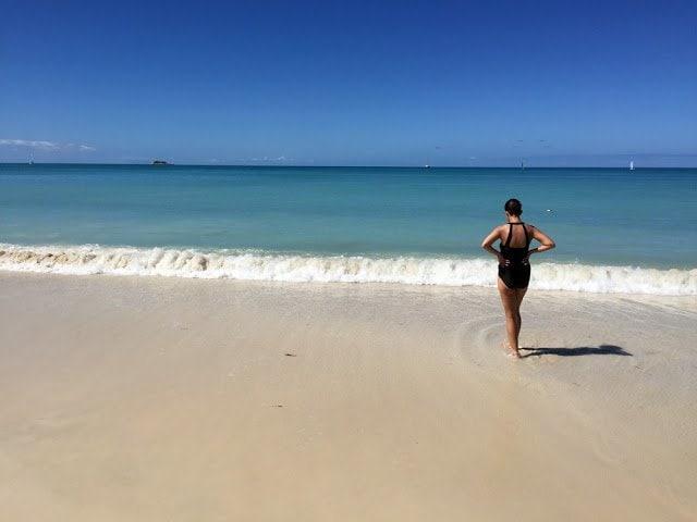 Strand von Antigua 1