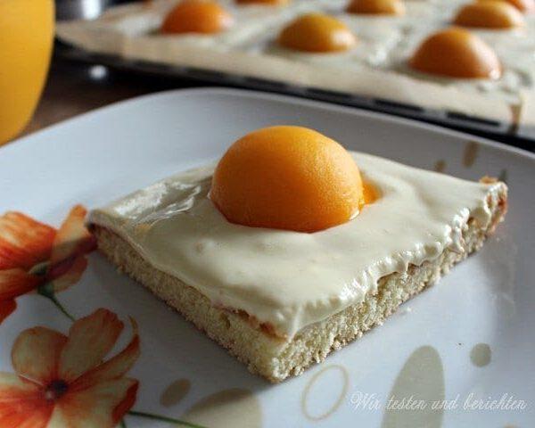 Rezept: Spiegelei-Kuchen