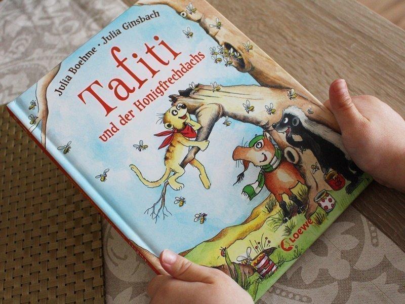 Kinderbuch: Tafiti und der Honigfrechdachs