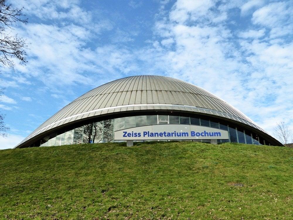 Besuch im Zeiss Planetarium 1