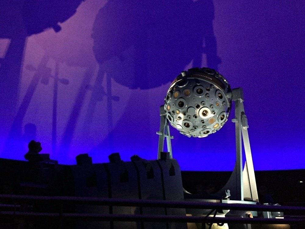 Besuch im Zeiss Planetarium 2