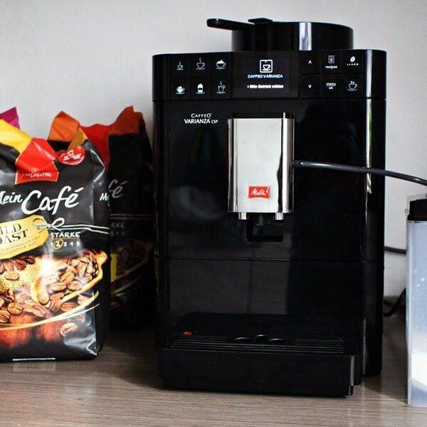 Produkttest Melitta Caffeo Varianza CSP
