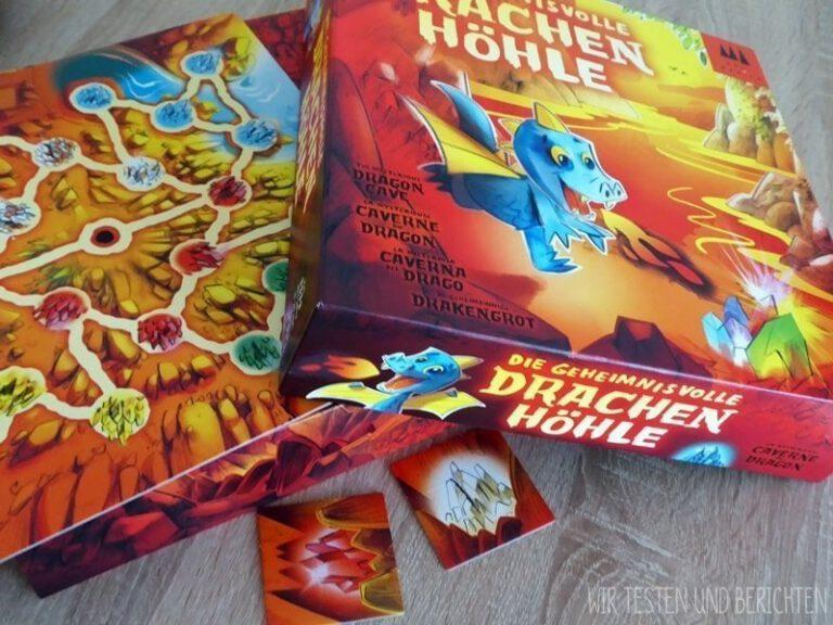 Die geheimnisvolle Drachenhöhle Spieletest Drei Magier Spiele