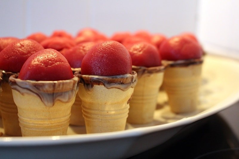Rezept: Eiswaffel Cake Pops
