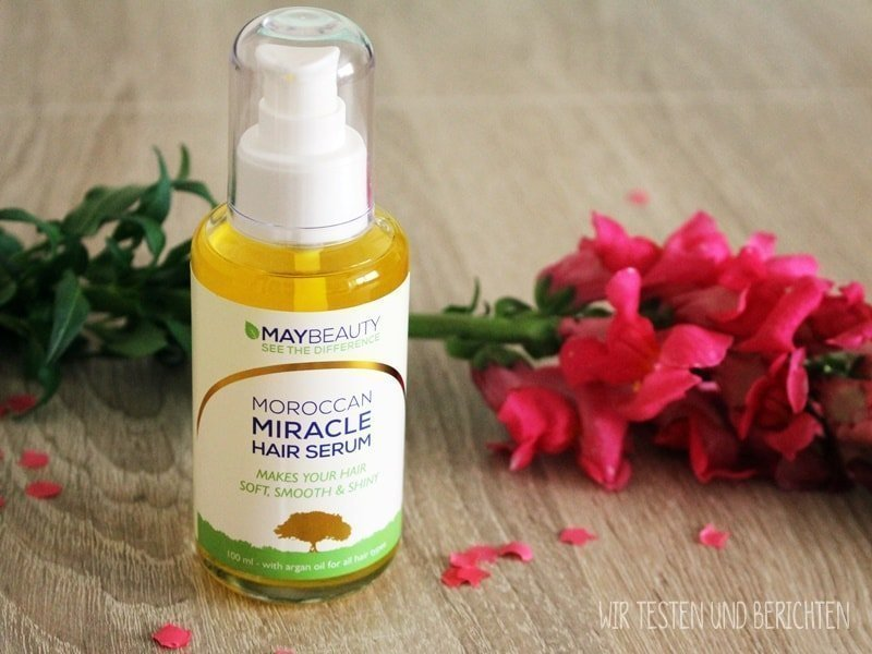 Moroccan Miracle Haar Serum Maybeauty im Test