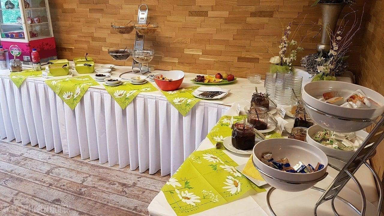Erfahrungen / Bewertung Elldus Resort Frühstücksbuffet