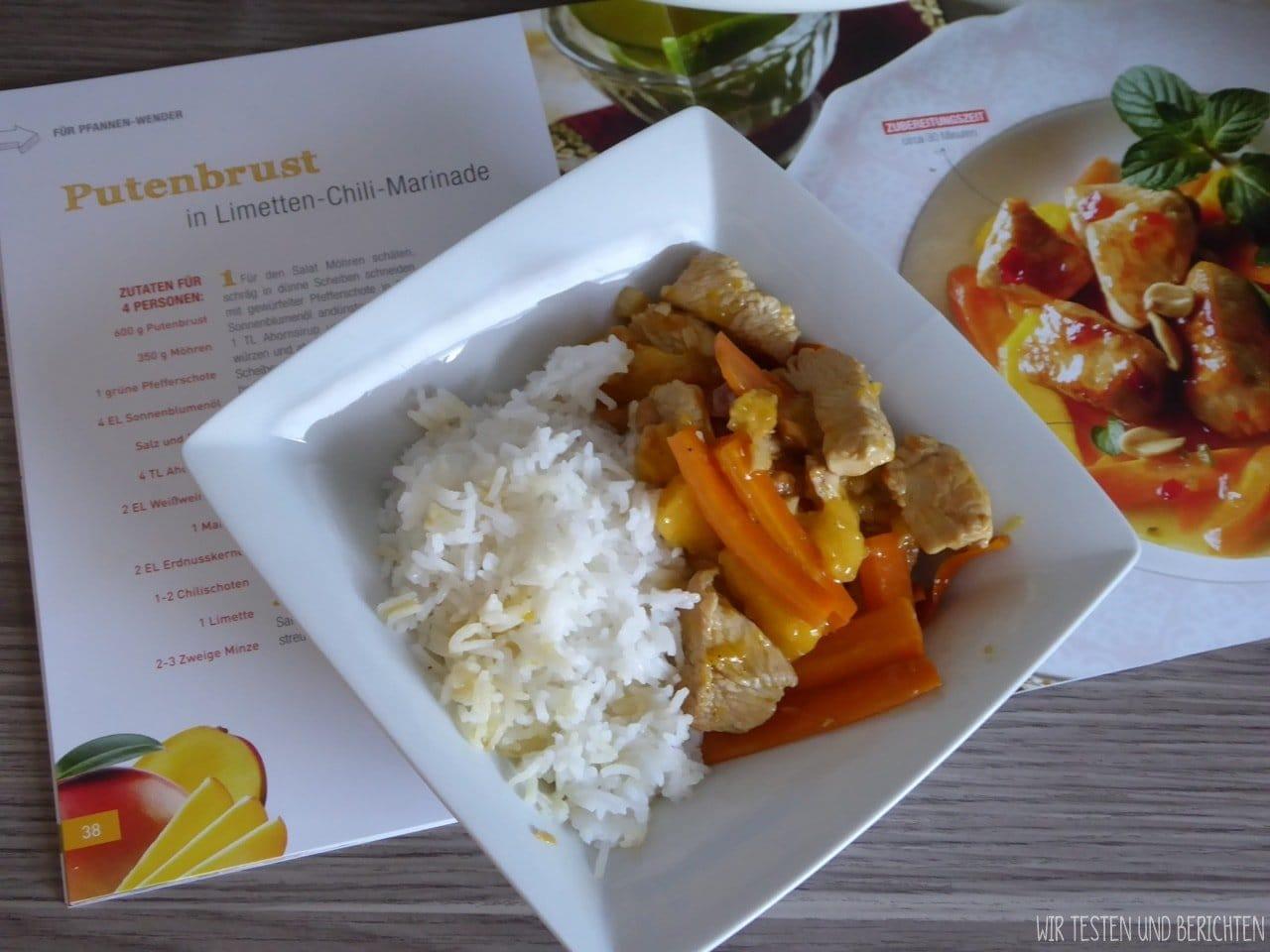 Rezept Putenbrust Limetten Chili Marinade