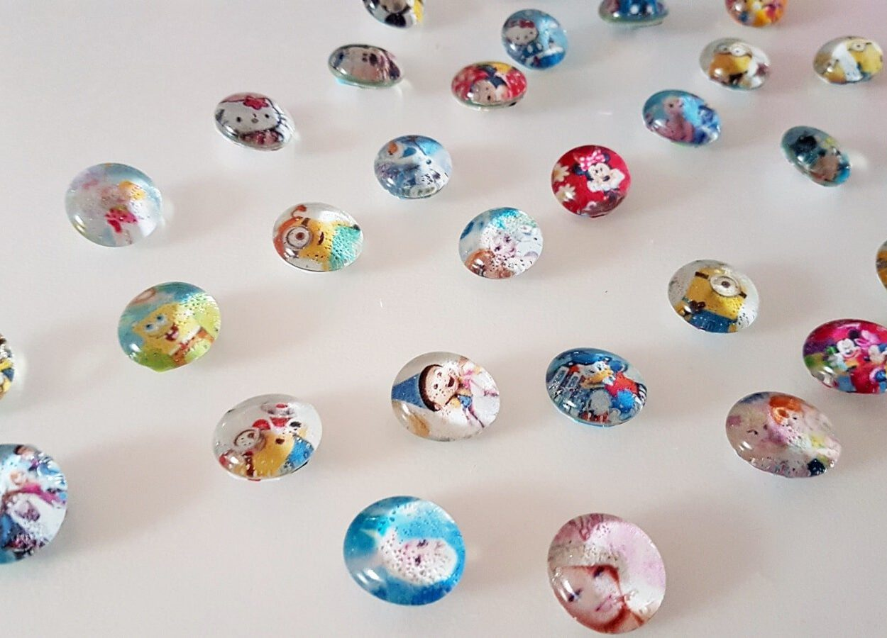 DIY Magnete basteln aus Glasnuggets 20