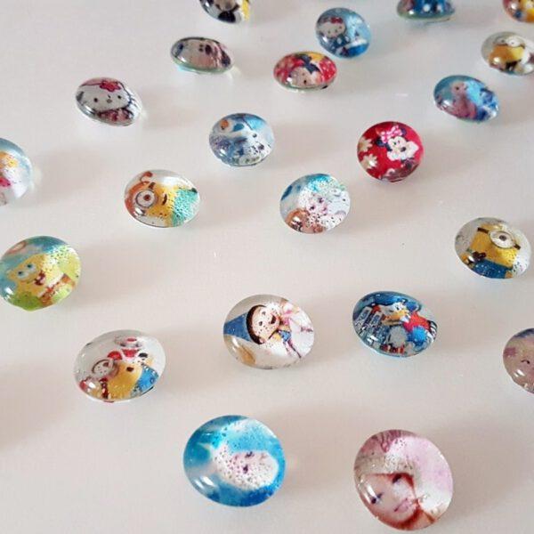 DIY Magnete basteln aus Glasnuggets 7