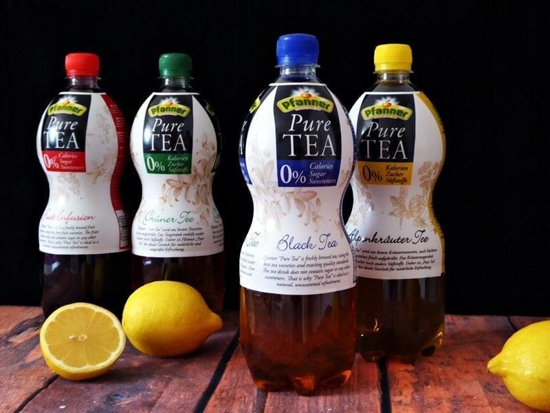 Produkttest Pfanner Pure Tea