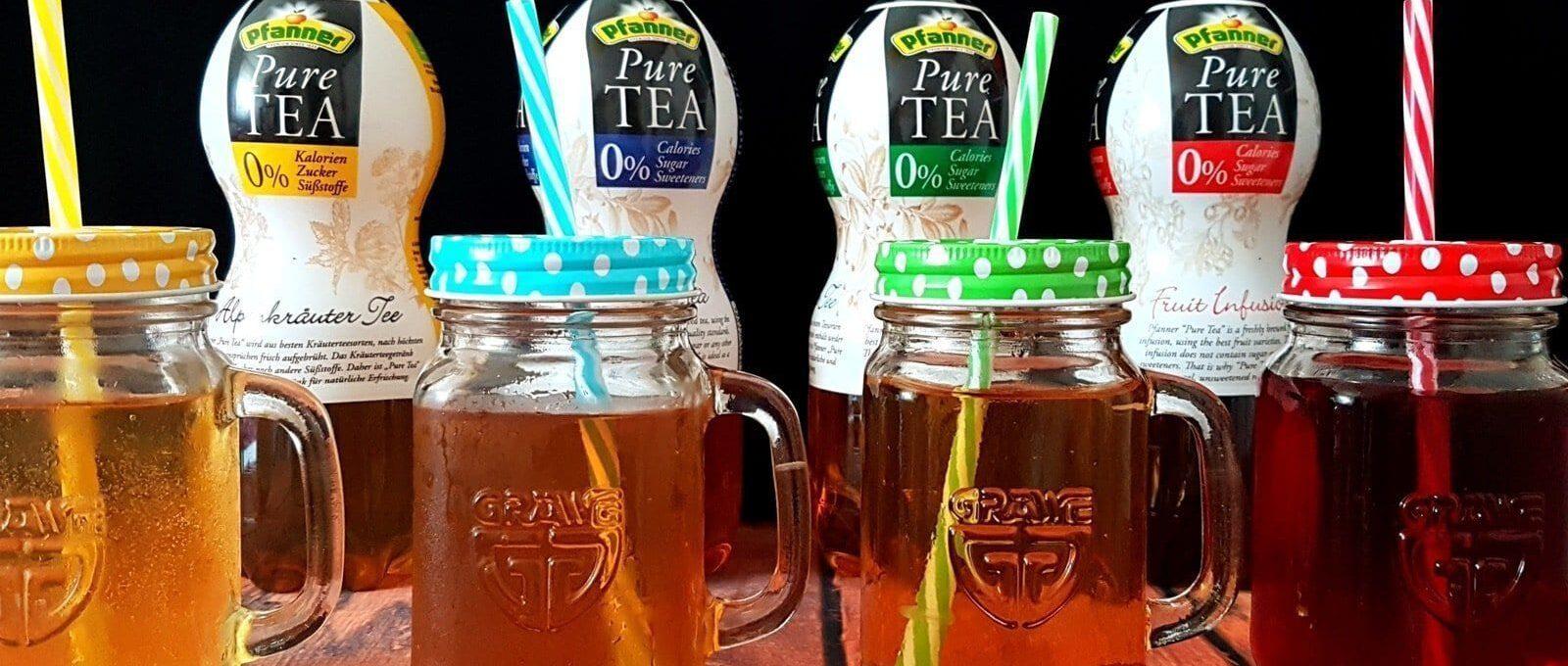 Wir testen Pfanner Pure Tea