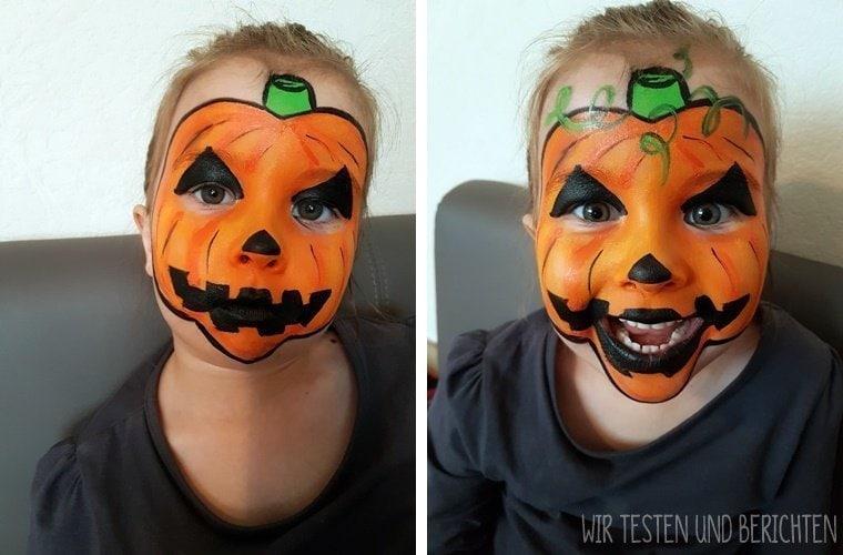 Halloween Kürbisgesicht schminken: Schritt für Schritt Anleitung 13
