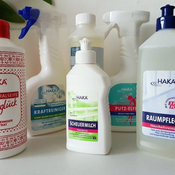 Erfahrungen mit ökologischen Reinigern von HAKA 15