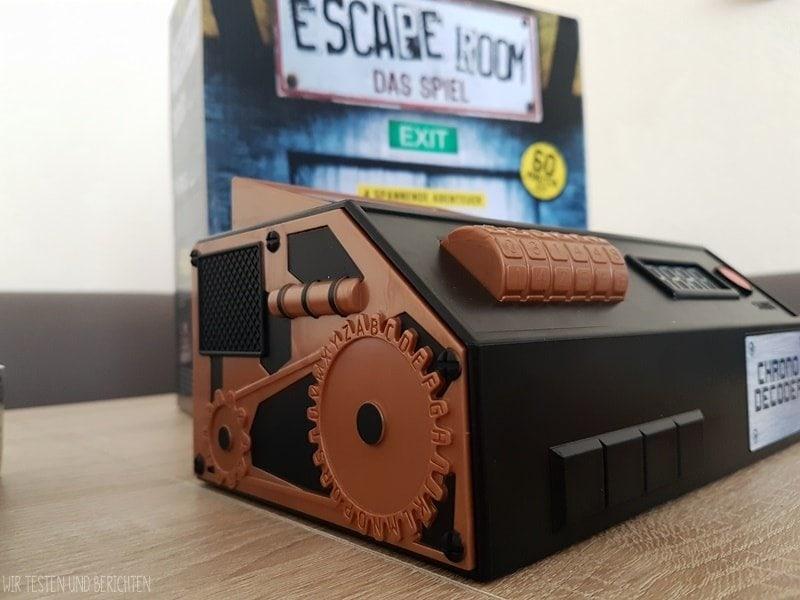Escape Room Spiel im Test