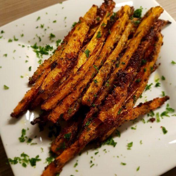 Rezept: Geröstete Parmesan Karottensticks 16